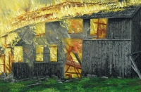 Varastopalo (Warehouse fire) 72x105