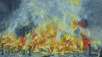 Metsäpalo (Forest fire) 59x105