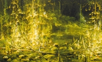 Metsäpalo	 (Forest fire) 60x100
