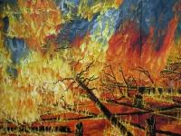 Metsäpalo - osa (Forest fire, partial)