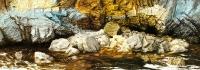 Kiutakönkään kallioita (Rocks of Kiutaköngäs) 150x500