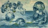 Universumin alkuaikaa (Early universe) 65x105