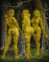 Kolme sulotarta (Three graces) 170x120