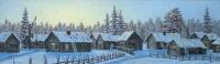 Hiljainen kylä (Silent village) 99x203
