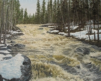 Isterinkoski (Rapids of Isterinkoski) 250x300