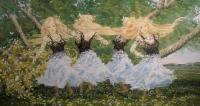 Kukkaistanssi (Flower-dance) 80x160