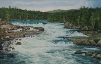 Näätämönkoski (Rapids of Näätämönkoski) 150x250