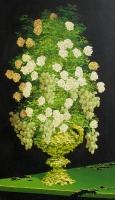 Valkeat ruusut (White roses) 105x59
