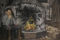 Vanha Piisi (Old fireplace) 70x100