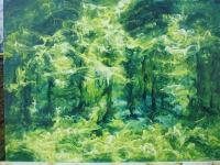 Pihakuva (Yard) 80 x 120 cm