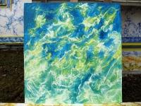 Pihakuva (Yard) 120 x 130 cm
