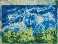 Pihakuva (Yard) 60 x 87 cm