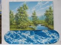 Pihakuva (Yard) 115 x 120 cm