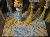 Lattialaattoja, Floor slates